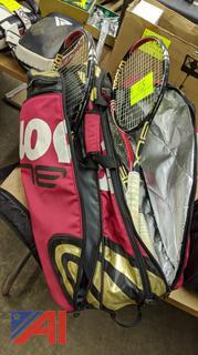 Wilson Tennis Rackets & Bag