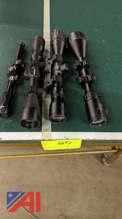 Various Rifle Scopes