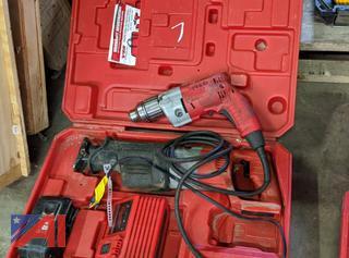 Various Milwaukee Power Tools
