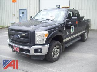 2012 Ford F350 Super Duty Pickup Truck