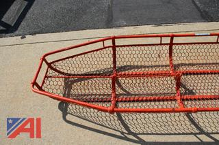 Plastic Coated Wire Stokes Basket