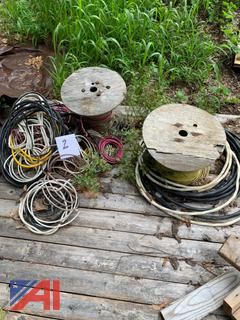 Spools of Electric Wires