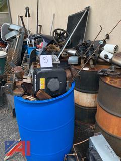 Various Types of Scrap Metal