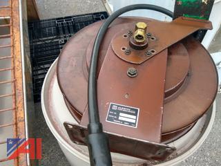 Engine Motor Oil Hose Reel