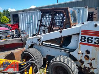 1998 Bobcat 863 Skid Steer Loader