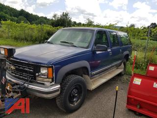 **UPDATE** 1999 Chevy 1500 Suburban with Plow