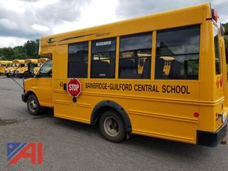 2015 Chevy/Blue Bird Express 3500 Mini School Bus