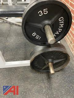 Various Weight Plates