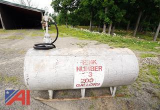 200 Gallon Kerosene Tank & Manual Pump