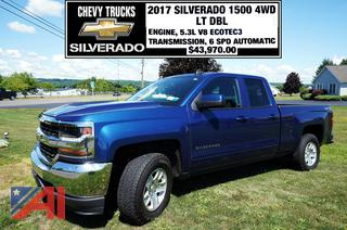 REDUCED BP 2017 Chevy Silverado 1500 Pickup Truck