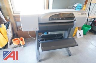 "HP Designjet 500PS 42"" Color Plotter"