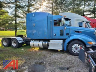 2011 Peterbilt 386 Sleeper Truck