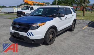2013 Ford Explorer SUV/Police Package