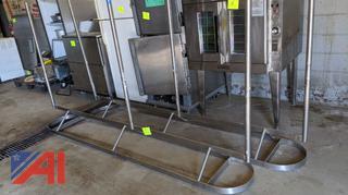 Stainless Steel Hanging Pan Racks