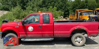 2006 Ford F350 Super Duty Extended Cab Pickup Truck