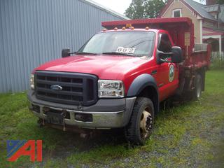 2006 Ford F550 Dump Truck with Sander