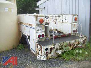 Pierce-Correll Steel Utility Truck Body