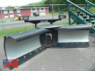 Sno-Way Stainless Steel 8' V-Plow with Controller & Harness