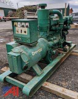 Onan Electric Plant 3 Phase 85 kw Generator
