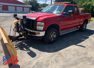 2008 Ford F250 SD Pickup Truck with Plow