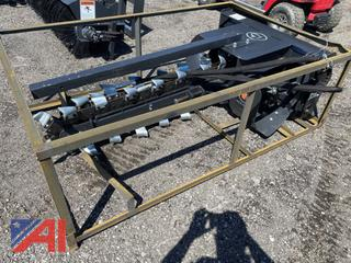 Wolverine Skid Steer Mount Trenches