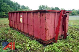 16' Roll Off Hook Lift Lugger Steel Box