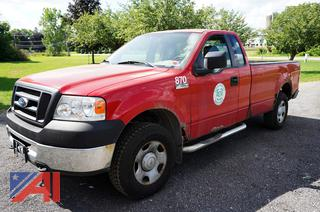 2007 Ford F150 XL Pickup Truck
