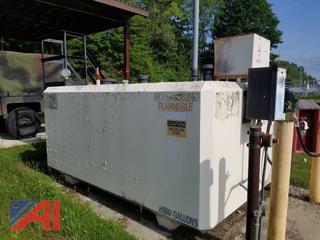 2,000 Gal Diesel Fuel Storage Tank with Pump