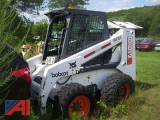 Bobcat 863C Skid Steer with Attachment
