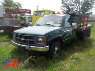 1996 Chevy C/K 3500 Rack Dump Truck