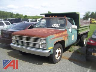 1984 Chevy C/K 30 Dump Truck