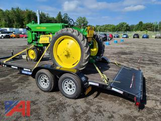 2013 Sure-Trac 7' x 16' Car Hauler Trailer with Ramps
