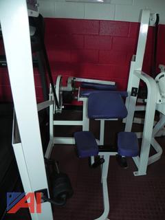 (#4) Cybex VR2 Prone Leg Curl Exercise Equipment