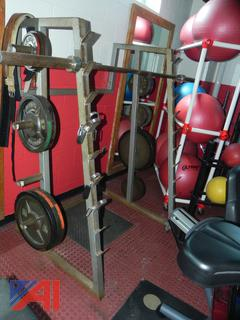 (#21) Various Barbell Weights