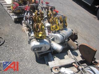 Electric 2,000 lb. Chain Hoists
