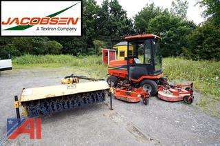 2005 Jacobsen HR-5111 Rotary Tri-Deck Mower with Broom