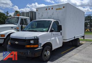 2005 Chevy Express 3500 Box Truck