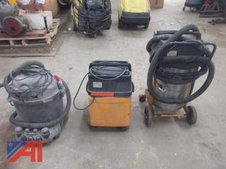 Assorted Vacuums/ Wet and Dry Vacs