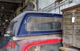 Blue 8' Truck Cap