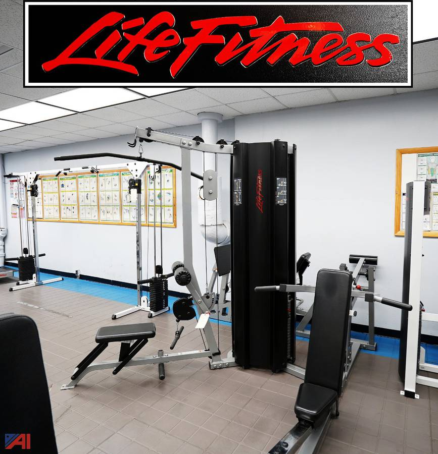 Auctions International Auction Town Of Tonawanda Pd Ny 22173 Item Life Fitness Fit 3 Multi Gym