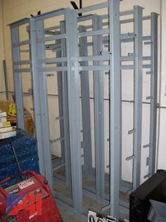 Metal Data Racks and Battery Shelves