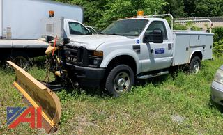 (#5) 2008 Ford F350 SD XL Utility Truck w/ Plow