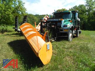 2005 International 7500 Dump Truck with Plow, Wing and Salter
