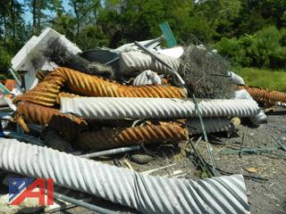 Large Pile of Various Scrap Metal