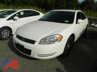 2008 Chevy Impala 4 Door/Police Vehicle