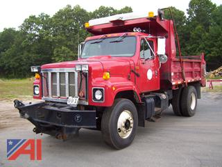 2001 International 2554 Dump Truck