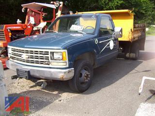 1993 Chevy C3500 Dump Truck