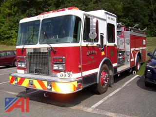 1994 Spartan Fire Pumper Truck