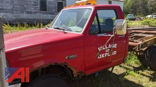 1994 Ford F350 XL Cab & Chassis (Parts Only)