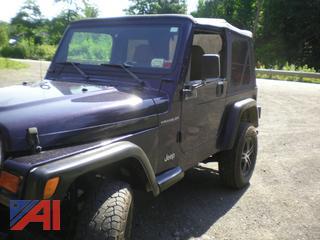 1998 Jeep Wrangler SE SUV
